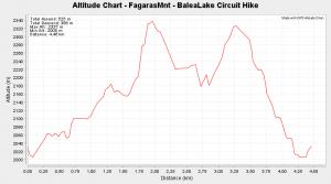 Fagaras Mountain - BaleaLake Circuit Hike